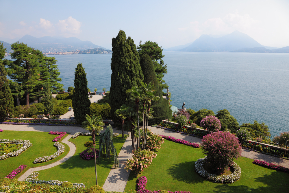 Italy's lakes (and their villas) are especially gorgeous in springtime