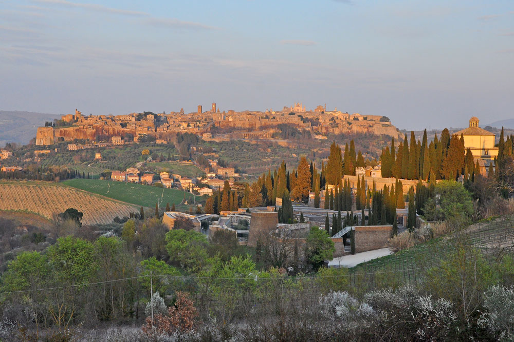 The beautiful town of Orvieto, a quick trip from Rome