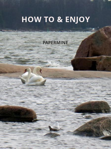 How to & Enjoy