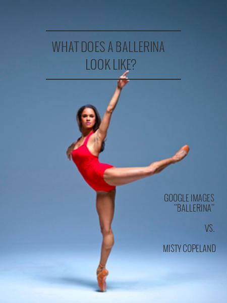what does a ballerina  look like?