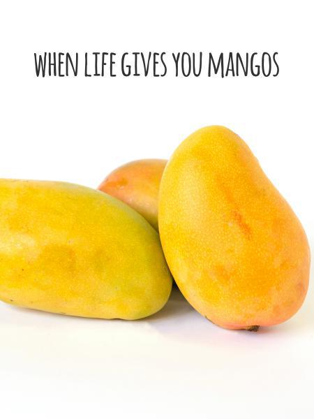 when life gives you mangos