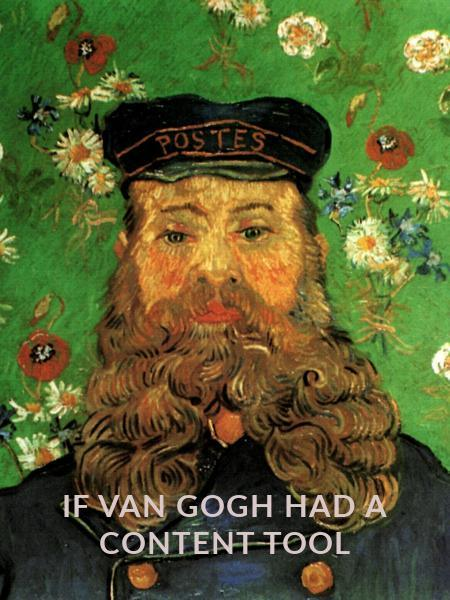 if van gogh had a content tool