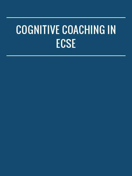 Cognitive Coaching in ECSE