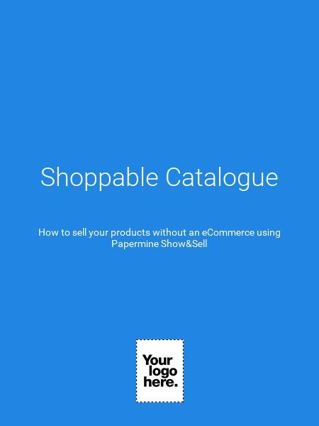 Shoppable Catalogue