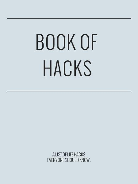 Book of Hacks