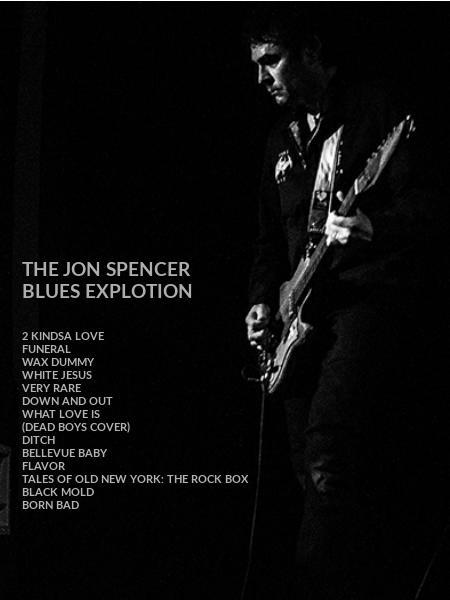 THE JON SPENCER  BLUES EXPLOTION
