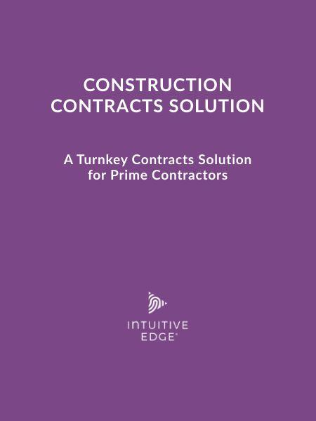 Construction Contracts Solution