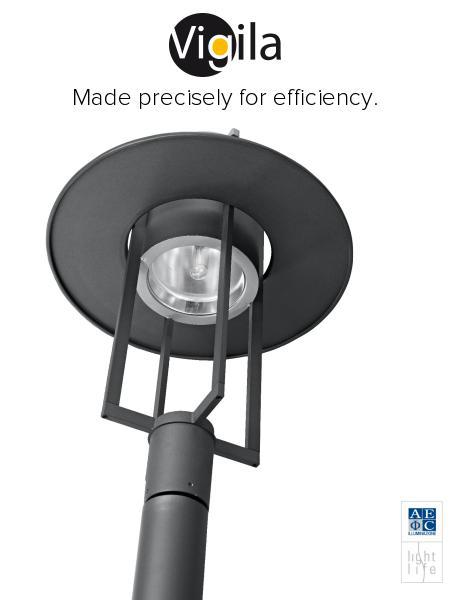 VIGILA: Efficient fixture for urban LED lighting