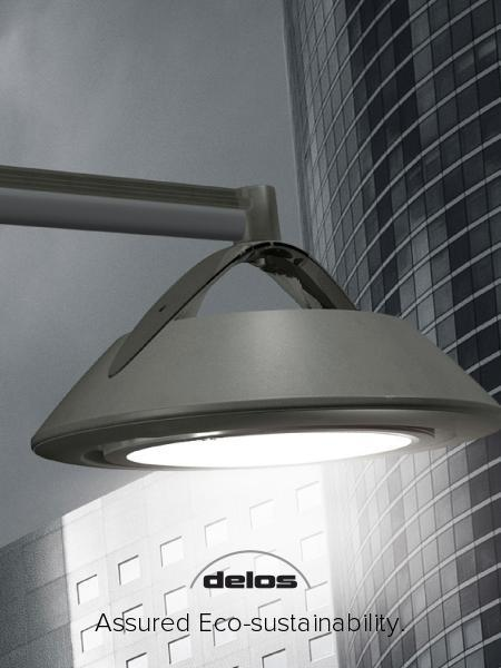 DELOS: EFFICIENT FIXTURE FOR URBAN LED LIGHTING