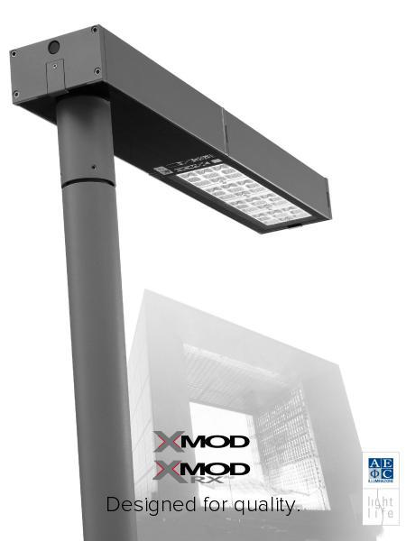 Xmod: efficient fixture for urban lighting