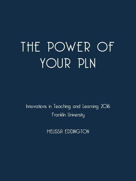 The Power of Your PLN