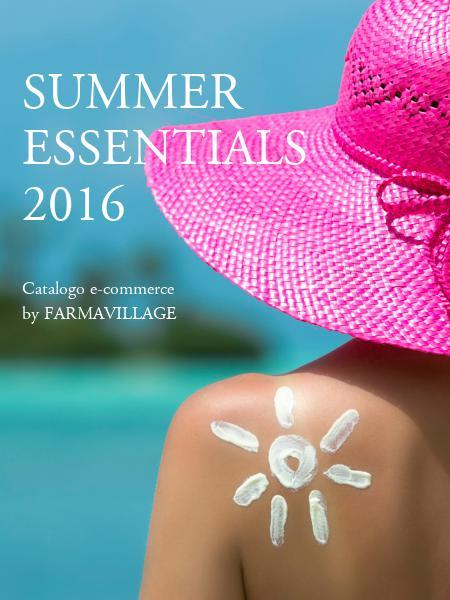 SUMMER ESSENTIALS 2016