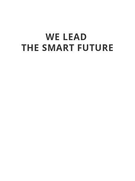 We lead  the smart future