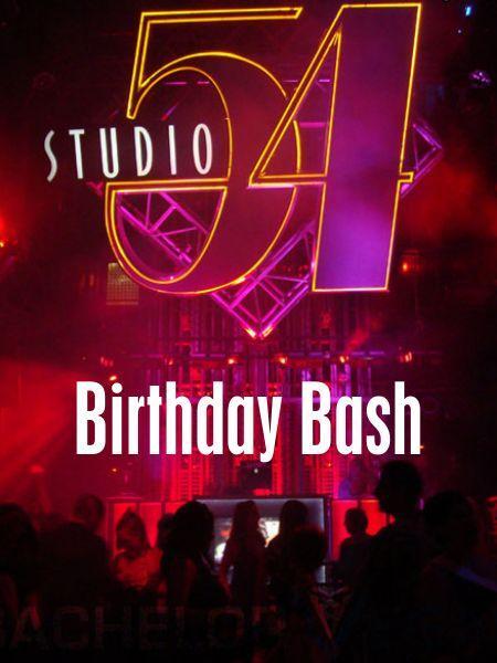 Studio 54 Birthday Bash