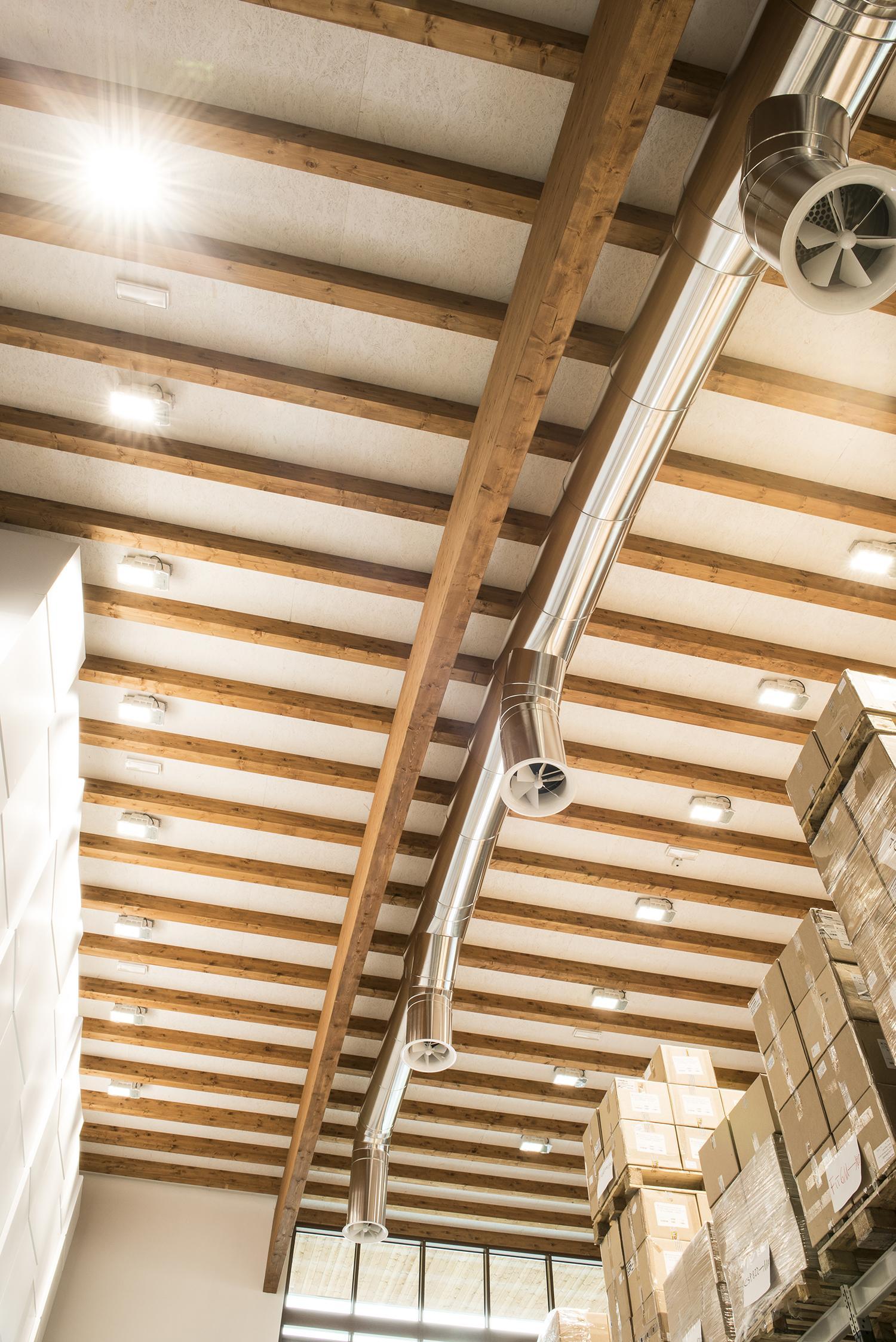 Sistemi Di Illuminazione A Led indoor lighting - stabilimenti industriali e commerciali.